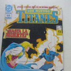 Comics : NUEVOS TITANES VOL.2 Nº 38 ZINCO MUCHOS MAS A LA VENTA , MIRA TUS FALTAS C17X4. Lote 243119455