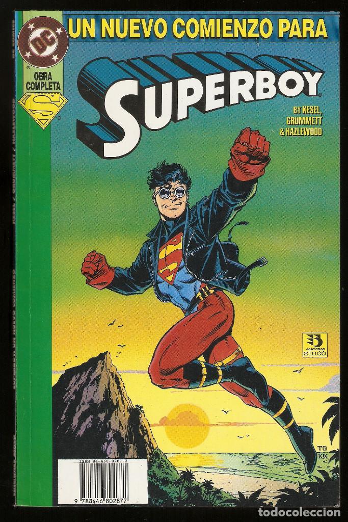 UN NUEVO COMIENZO PARA SUPERBOY - OBRA COMPLETA - TOMO - EDICIONES ZINCO - (Tebeos y Comics - Zinco - Prestiges y Tomos)