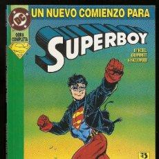 Cómics: UN NUEVO COMIENZO PARA SUPERBOY - OBRA COMPLETA - TOMO - EDICIONES ZINCO -. Lote 198719258