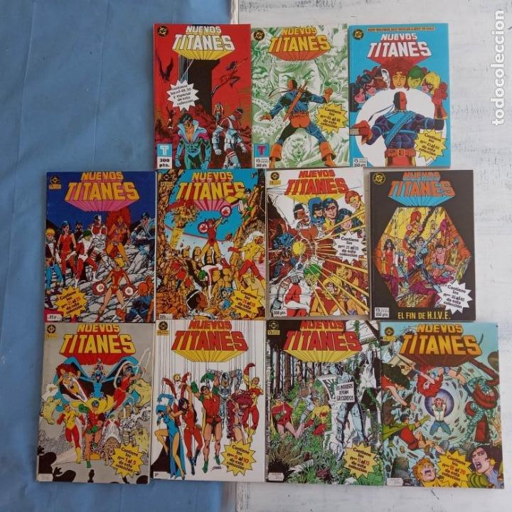 Cómics: NUEVOS TITANES 1984-1988 EDI. ZINCO COMPLETA 1 AL 50 Y ESPECIAL DE VERANO, VER IMÁGENES - Foto 2 - 198803421