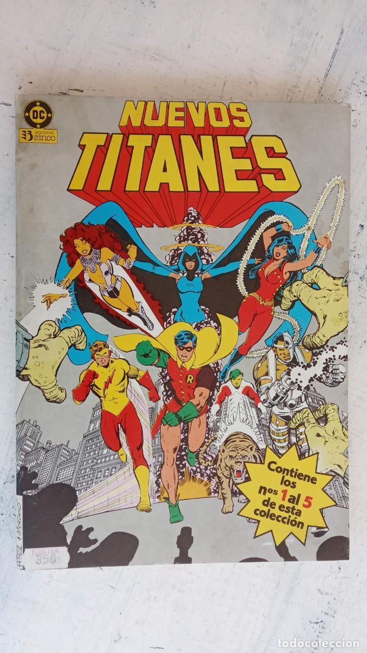 Cómics: NUEVOS TITANES 1984-1988 EDI. ZINCO COMPLETA 1 AL 50 Y ESPECIAL DE VERANO, VER IMÁGENES - Foto 3 - 198803421