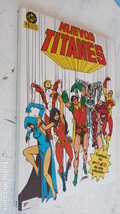 Cómics: NUEVOS TITANES 1984-1988 EDI. ZINCO COMPLETA 1 AL 50 Y ESPECIAL DE VERANO, VER IMÁGENES - Foto 6 - 198803421