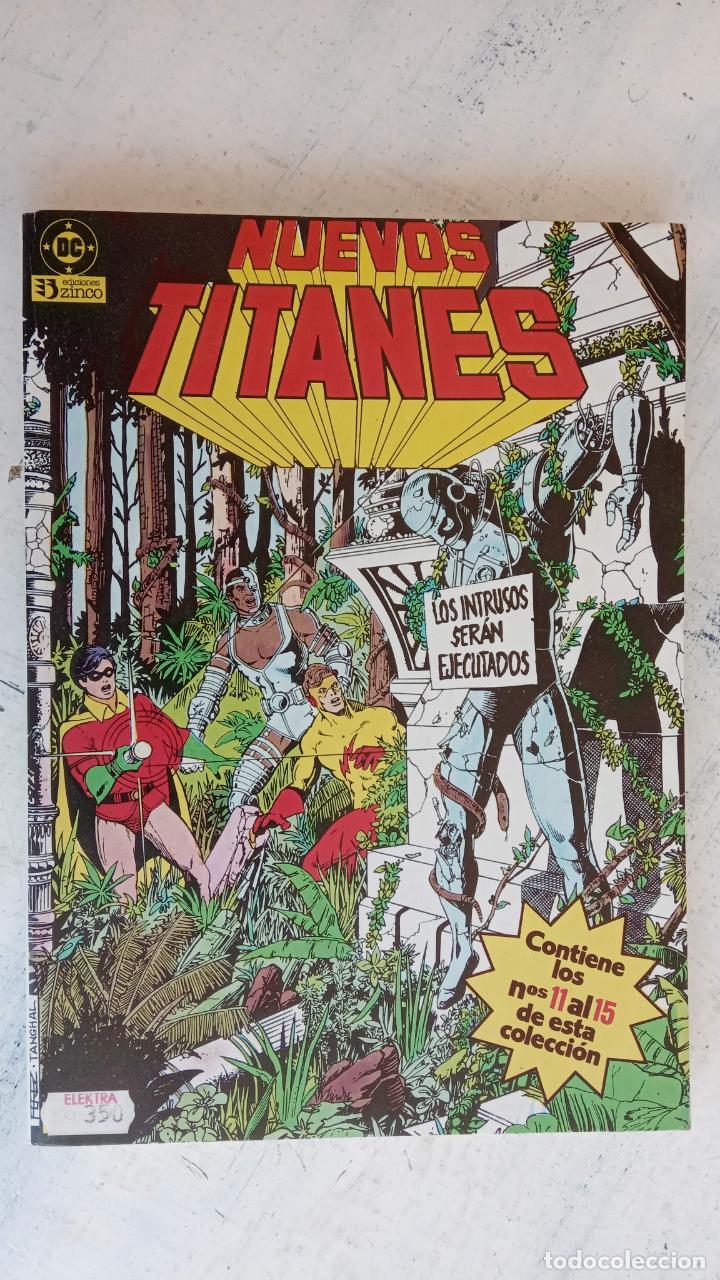 Cómics: NUEVOS TITANES 1984-1988 EDI. ZINCO COMPLETA 1 AL 50 Y ESPECIAL DE VERANO, VER IMÁGENES - Foto 7 - 198803421