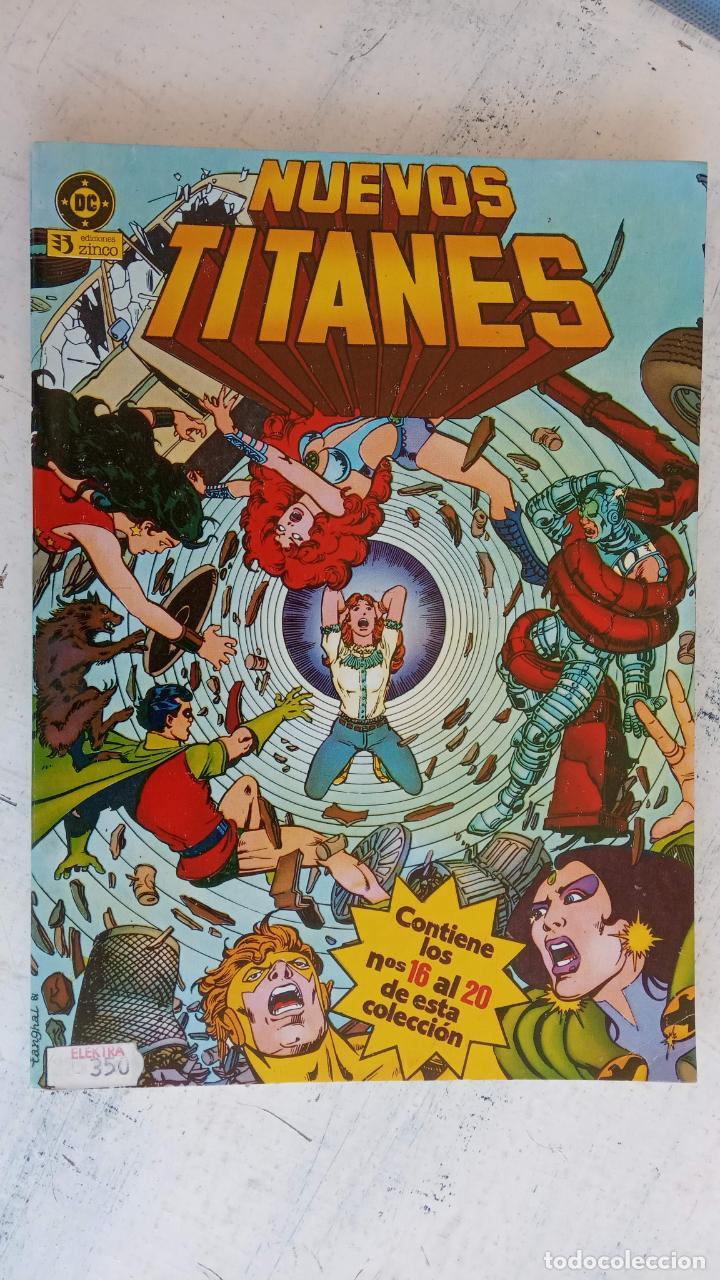 Cómics: NUEVOS TITANES 1984-1988 EDI. ZINCO COMPLETA 1 AL 50 Y ESPECIAL DE VERANO, VER IMÁGENES - Foto 8 - 198803421