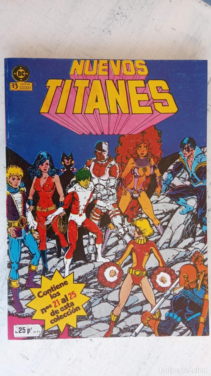 Cómics: NUEVOS TITANES 1984-1988 EDI. ZINCO COMPLETA 1 AL 50 Y ESPECIAL DE VERANO, VER IMÁGENES - Foto 10 - 198803421