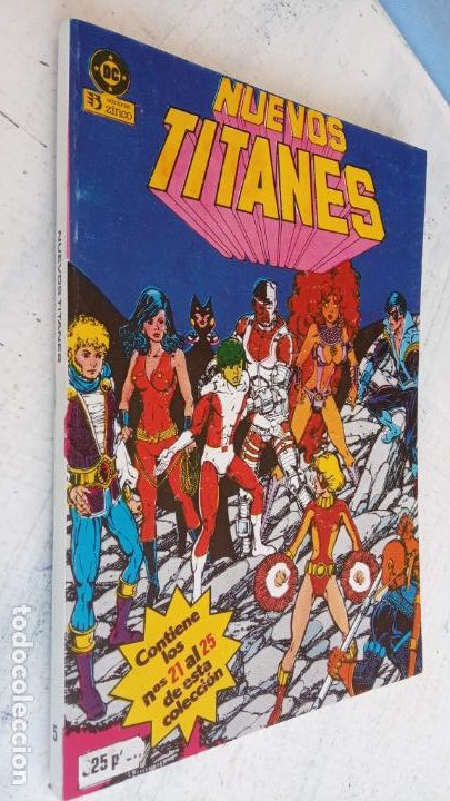 Cómics: NUEVOS TITANES 1984-1988 EDI. ZINCO COMPLETA 1 AL 50 Y ESPECIAL DE VERANO, VER IMÁGENES - Foto 11 - 198803421