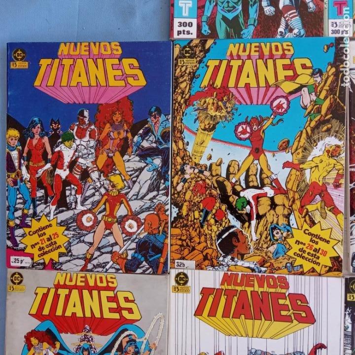 Cómics: NUEVOS TITANES 1984-1988 EDI. ZINCO COMPLETA 1 AL 50 Y ESPECIAL DE VERANO, VER IMÁGENES - Foto 14 - 198803421