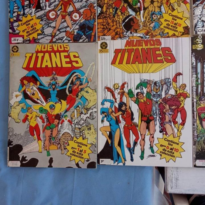 Cómics: NUEVOS TITANES 1984-1988 EDI. ZINCO COMPLETA 1 AL 50 Y ESPECIAL DE VERANO, VER IMÁGENES - Foto 15 - 198803421