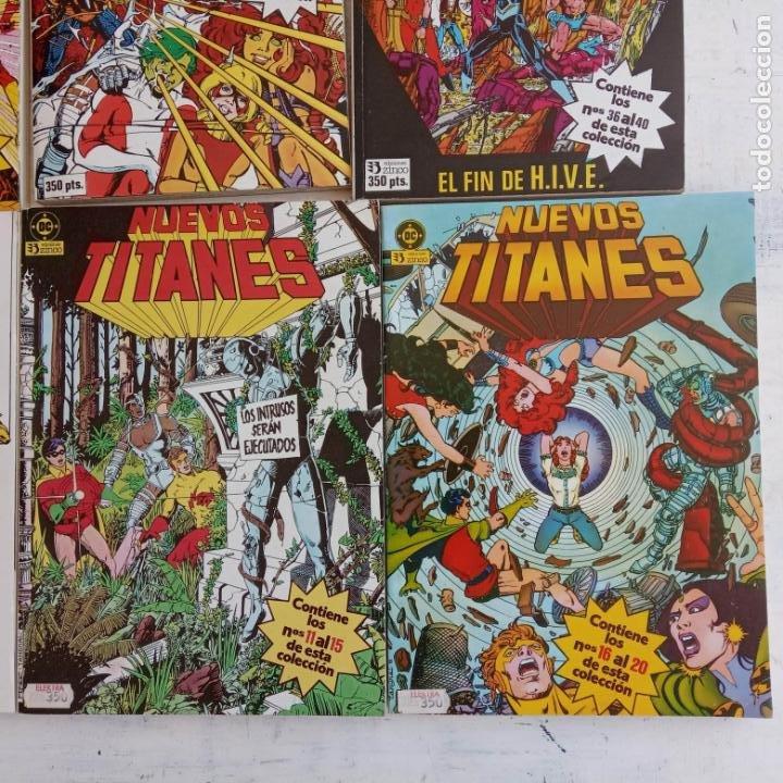Cómics: NUEVOS TITANES 1984-1988 EDI. ZINCO COMPLETA 1 AL 50 Y ESPECIAL DE VERANO, VER IMÁGENES - Foto 17 - 198803421