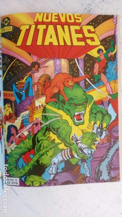 Cómics: NUEVOS TITANES 1984-1988 EDI. ZINCO COMPLETA 1 AL 50 Y ESPECIAL DE VERANO, VER IMÁGENES - Foto 19 - 198803421