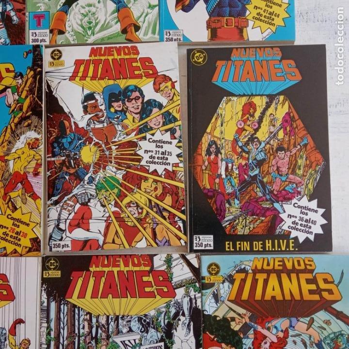 Cómics: NUEVOS TITANES 1984-1988 EDI. ZINCO COMPLETA 1 AL 50 Y ESPECIAL DE VERANO, VER IMÁGENES - Foto 21 - 198803421