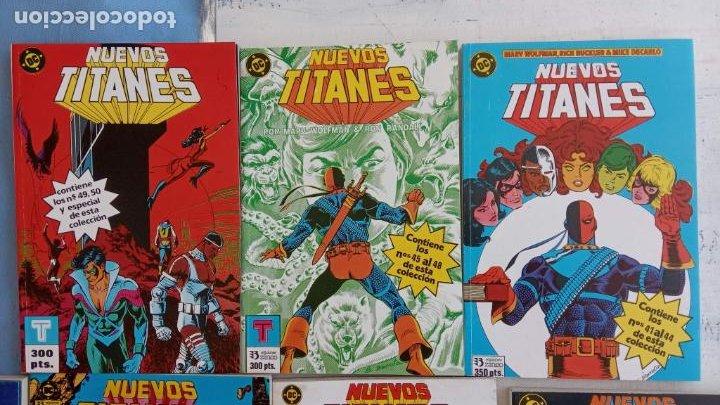 Cómics: NUEVOS TITANES 1984-1988 EDI. ZINCO COMPLETA 1 AL 50 Y ESPECIAL DE VERANO, VER IMÁGENES - Foto 24 - 198803421