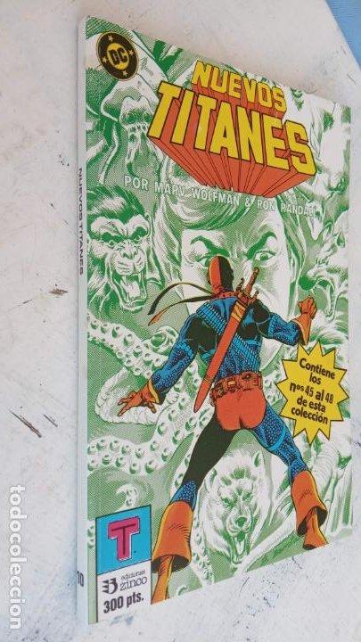 Cómics: NUEVOS TITANES 1984-1988 EDI. ZINCO COMPLETA 1 AL 50 Y ESPECIAL DE VERANO, VER IMÁGENES - Foto 27 - 198803421