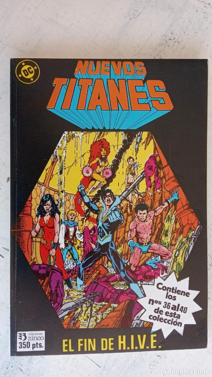 Cómics: NUEVOS TITANES 1984-1988 EDI. ZINCO COMPLETA 1 AL 50 Y ESPECIAL DE VERANO, VER IMÁGENES - Foto 33 - 198803421
