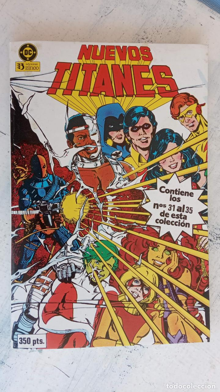 Cómics: NUEVOS TITANES 1984-1988 EDI. ZINCO COMPLETA 1 AL 50 Y ESPECIAL DE VERANO, VER IMÁGENES - Foto 35 - 198803421
