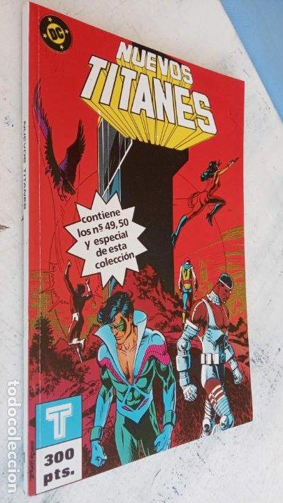 Cómics: NUEVOS TITANES 1984-1988 EDI. ZINCO COMPLETA 1 AL 50 Y ESPECIAL DE VERANO, VER IMÁGENES - Foto 37 - 198803421