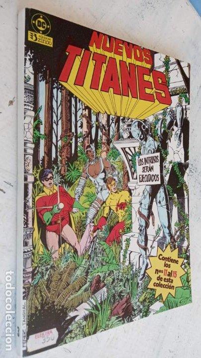 Cómics: NUEVOS TITANES 1984-1988 EDI. ZINCO COMPLETA 1 AL 50 Y ESPECIAL DE VERANO, VER IMÁGENES - Foto 39 - 198803421