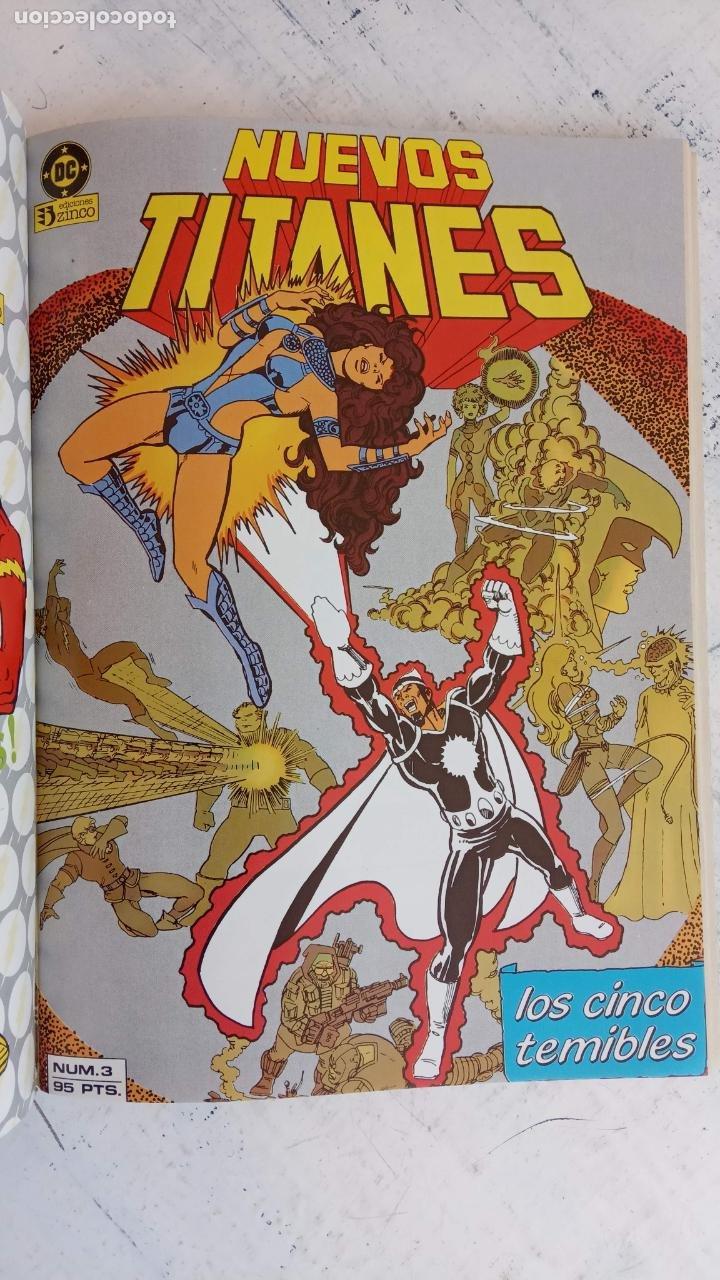Cómics: NUEVOS TITANES 1984-1988 EDI. ZINCO COMPLETA 1 AL 50 Y ESPECIAL DE VERANO, VER IMÁGENES - Foto 41 - 198803421