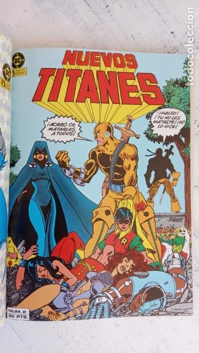 Cómics: NUEVOS TITANES 1984-1988 EDI. ZINCO COMPLETA 1 AL 50 Y ESPECIAL DE VERANO, VER IMÁGENES - Foto 42 - 198803421