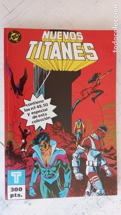Cómics: NUEVOS TITANES 1984-1988 EDI. ZINCO COMPLETA 1 AL 50 Y ESPECIAL DE VERANO, VER IMÁGENES - Foto 43 - 198803421