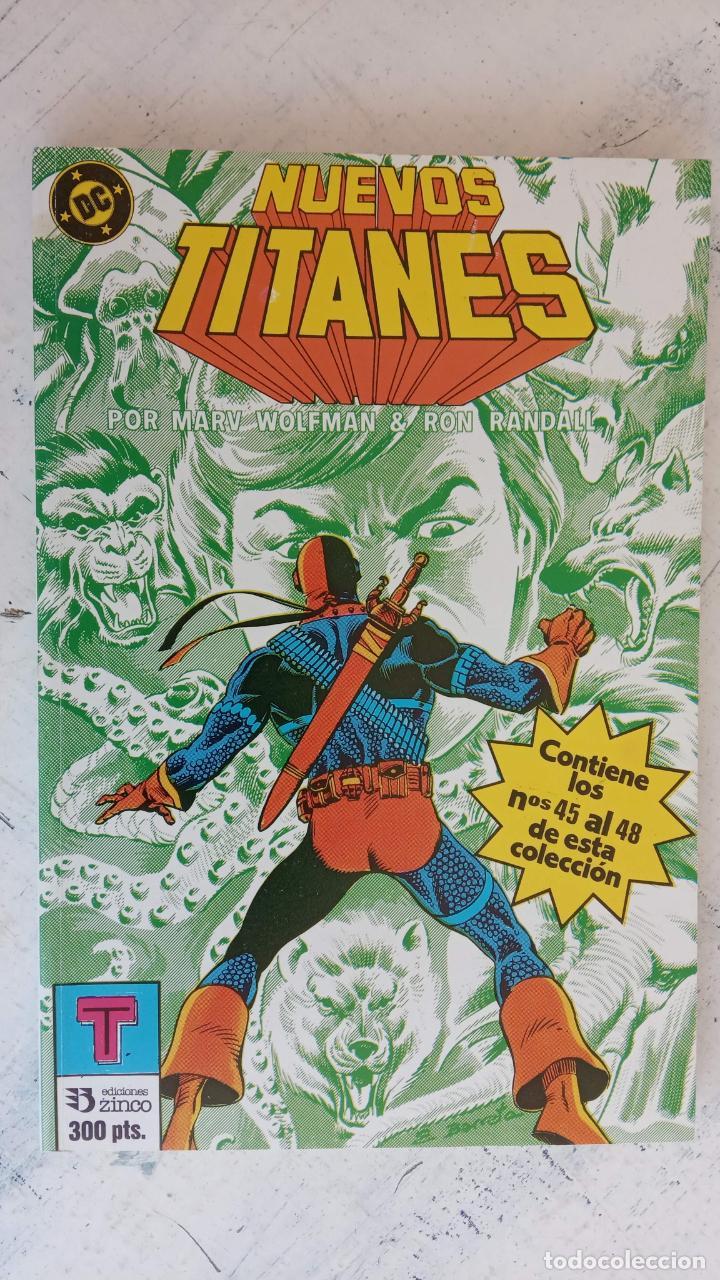 Cómics: NUEVOS TITANES 1984-1988 EDI. ZINCO COMPLETA 1 AL 50 Y ESPECIAL DE VERANO, VER IMÁGENES - Foto 45 - 198803421