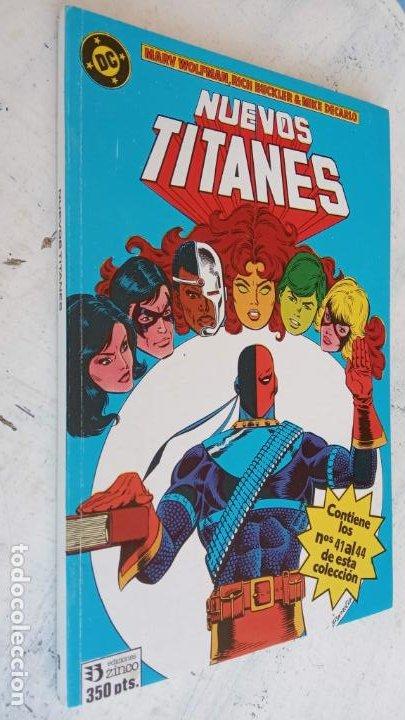 Cómics: NUEVOS TITANES 1984-1988 EDI. ZINCO COMPLETA 1 AL 50 Y ESPECIAL DE VERANO, VER IMÁGENES - Foto 46 - 198803421