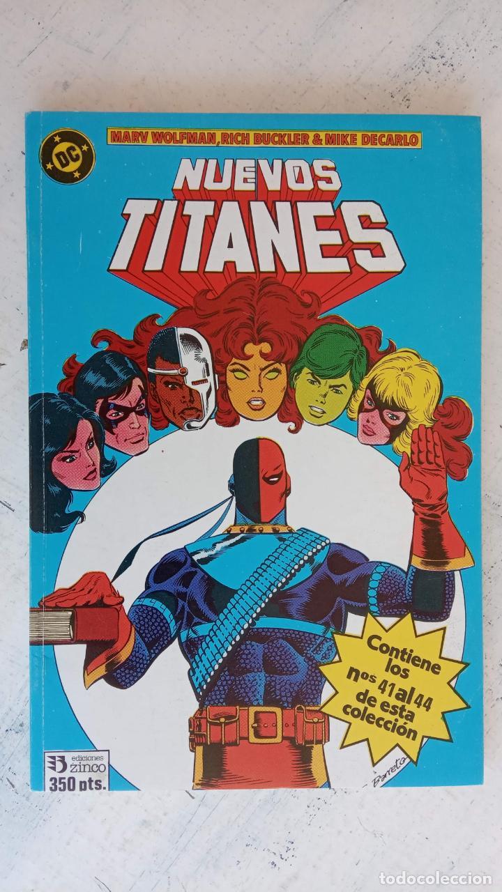 Cómics: NUEVOS TITANES 1984-1988 EDI. ZINCO COMPLETA 1 AL 50 Y ESPECIAL DE VERANO, VER IMÁGENES - Foto 47 - 198803421