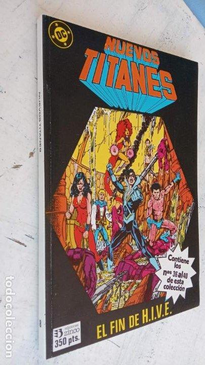 Cómics: NUEVOS TITANES 1984-1988 EDI. ZINCO COMPLETA 1 AL 50 Y ESPECIAL DE VERANO, VER IMÁGENES - Foto 48 - 198803421