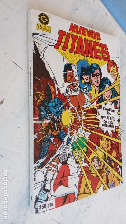 Cómics: NUEVOS TITANES 1984-1988 EDI. ZINCO COMPLETA 1 AL 50 Y ESPECIAL DE VERANO, VER IMÁGENES - Foto 50 - 198803421