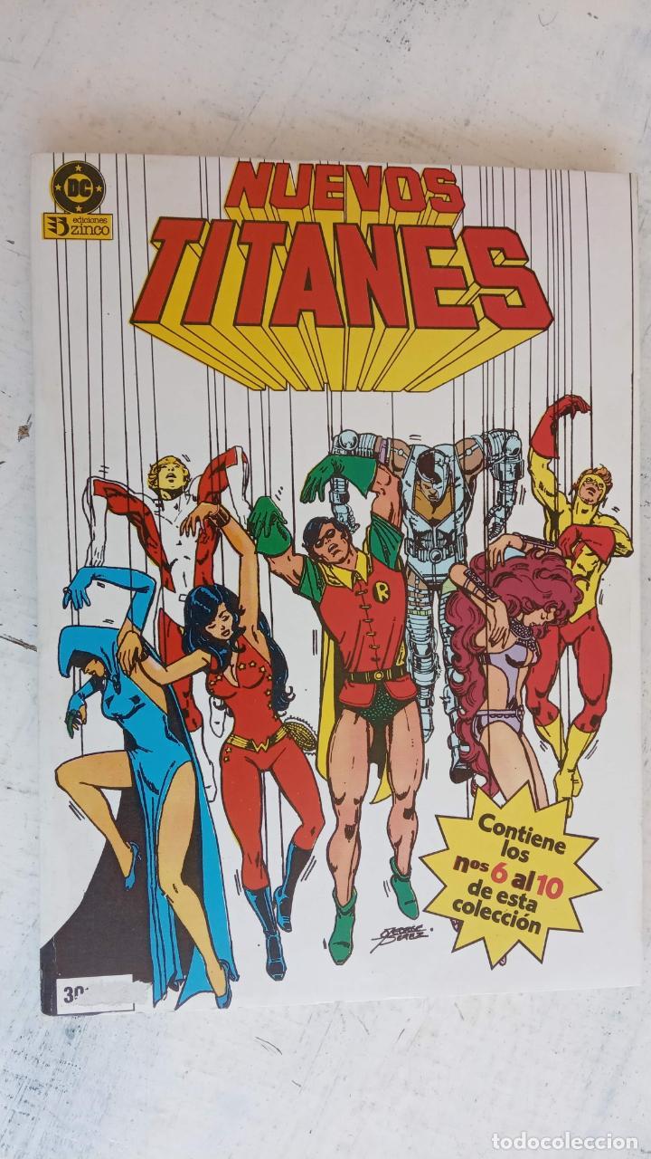 Cómics: NUEVOS TITANES 1984-1988 EDI. ZINCO COMPLETA 1 AL 50 Y ESPECIAL DE VERANO, VER IMÁGENES - Foto 60 - 198803421