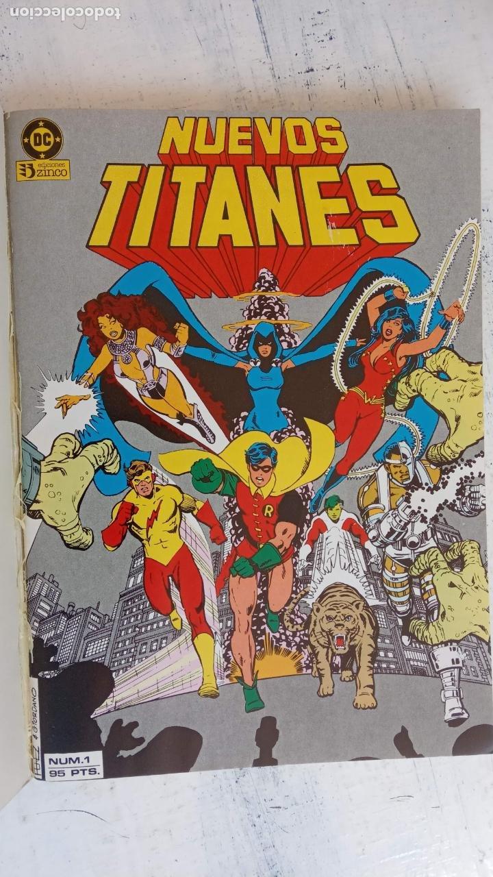 Cómics: NUEVOS TITANES 1984-1988 EDI. ZINCO COMPLETA 1 AL 50 Y ESPECIAL DE VERANO, VER IMÁGENES - Foto 63 - 198803421