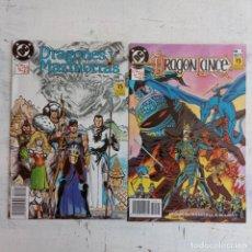 Cómics: DRAGONES Y MAZMORRAS Nº 1 Y DRAGONLANCE Nº 1 NUEVOS IMPECABLES - EDI ZINCO 1990. Lote 198805402