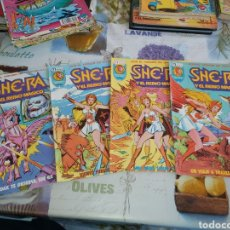 Cómics: SHE-RA Y EL REINO MÁGICO, 4 NUMEROS. 2, 3, 4 Y 6. BUEN ESTADO. Lote 198937773