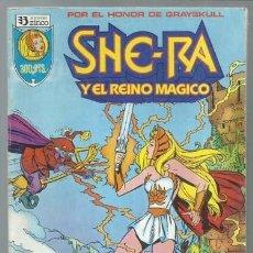 Cómics: RETAPADO SHE-RA Y EL REINO MÁGICO, 1 A 6, 1988, ZINCO, BUEN ESTADO. COLECCIÓN A.T.. Lote 198942062