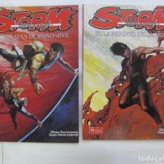 Cómics: STORM CRONICAS DE PANDARVE 4 VOLUMENES - COMPLETA 1983-85. Lote 199036267