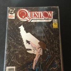 Cómics: ZINCO DC QUESTION NUMERO 31 NORMAL ESTADO. Lote 199045981