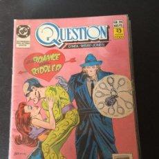 Cómics: ZINCO DC QUESTION NUMERO 26 NORMAL ESTADO. Lote 199046133