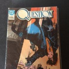 Cómics: ZINCO DC QUESTION NUMERO 1 NORMAL ESTADO. Lote 199046230