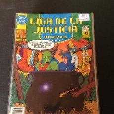 Comics: ZINCO DC LIGA DE LA JUSTICIA DE AMERICA NUMERO 53 NORMAL ESTADO. Lote 199048982
