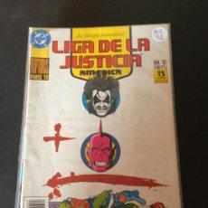 Comics: ZINCO DC LIGA DE LA JUSTICIA DE AMERICA NUMERO 52 NORMAL ESTADO. Lote 199049496