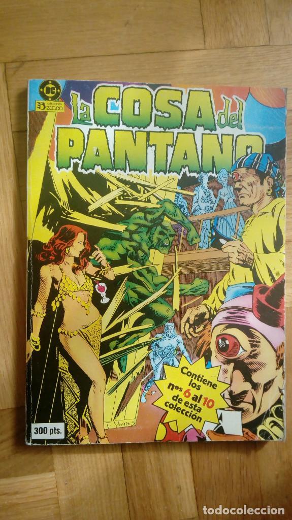 LA COSA DEL PANTANO NºS 6 AL 10 RETAPADO 2 ( DC ZINCO) (Tebeos y Comics - Zinco - Cosa del Pantano)