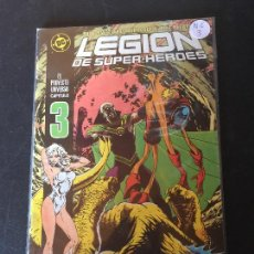 Comics: ZINCO DC LEGION DE SUPER-HEROES NUMERO 3 NORMAL ESTADO. Lote 199051380