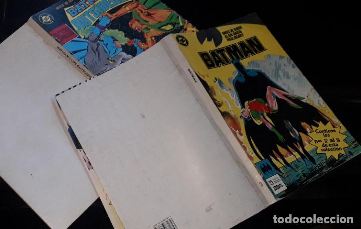 Cómics: comic zinco batman año 3 completa 4 tomos numeros 1 a 20 de mike w. barr y alan davis - Foto 2 - 199096252
