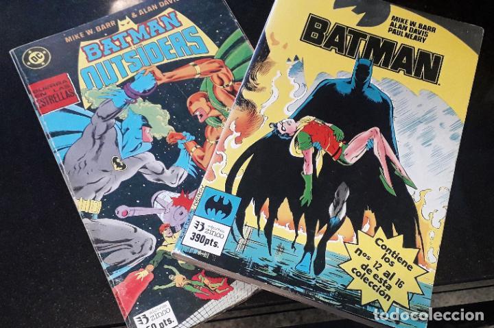 COMIC ZINCO BATMAN AÑO 3 COMPLETA 4 TOMOS NUMEROS 1 A 20 DE MIKE W. BARR Y ALAN DAVIS (Tebeos y Comics - Zinco - Batman)