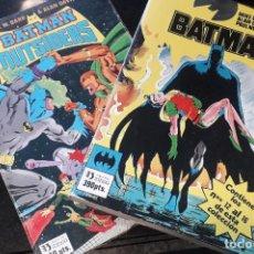 Cómics: COMIC ZINCO BATMAN AÑO 3 COMPLETA 4 TOMOS NUMEROS 1 A 20 DE MIKE W. BARR Y ALAN DAVIS. Lote 199096252