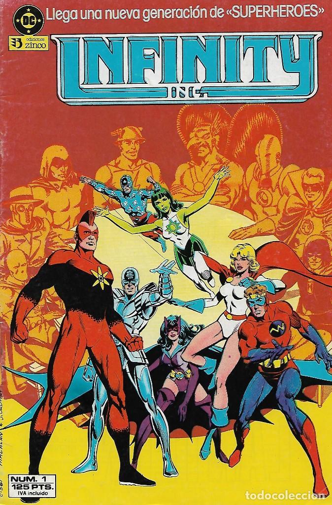 INFINITY INC. 1 - ZINCO (Tebeos y Comics - Zinco - Infinity Inc)