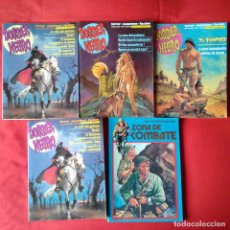 Cómics: 3 RETAPADOS DOSSIER NEGRO 12, 13, 14 + 1 RETAPADO ZONA DE COMBATE 20 +1 RETAPADO 1984. Lote 199136948
