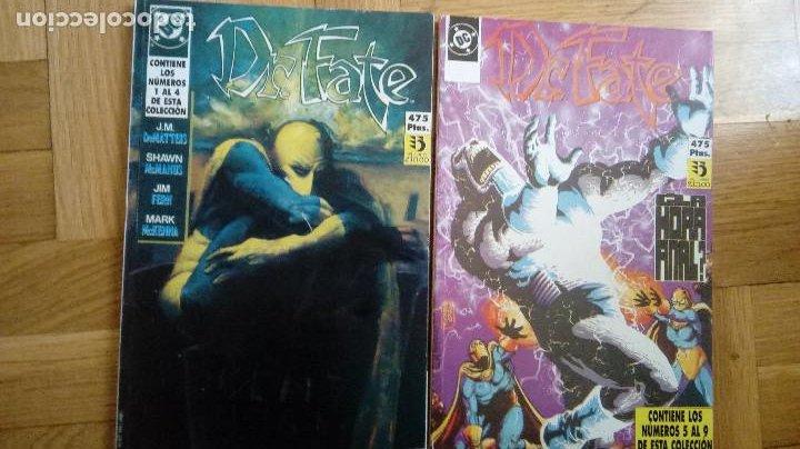 DR. FATE POR J.M. DEMATTEIS, MCMANUS- ZINCO (1991)(LOTE DE 2 RETAPADOS CON 9 NÚMS) COMPLETA (Tebeos y Comics - Zinco - Retapados)