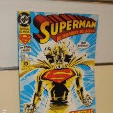 Comics: SUPERMAN EL HOMBRE DE ACERO Nº 7 - ZINCO. Lote 199183610