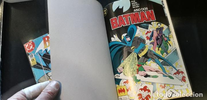 Cómics: comic zinco batman año 3 completa 4 tomos numeros 1 a 20 de mike w. barr y alan davis - Foto 4 - 199096252